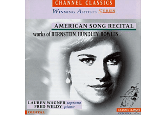 Richard Hundley, Lauren Wagner, Fred Weldy - American Song Recital - (CD)