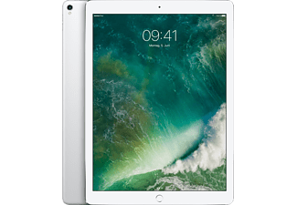 APPLE MQEE2FD/A iPad Pro Wi-Fi + Cellular, Tablet mit 12.9 Zoll, 64 GB Speicher, LTE, iOS 10, Silber