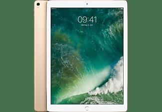 APPLE MQEF2FD/A iPad Pro Wi-Fi + Cellular, Tablet mit 12.9 Zoll, 64 GB Speicher, LTE, iOS 10, Gold