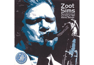 Zoot Sims - Live At E.J.'s Aug 9 1981 Atlanta G - (CD)