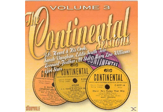 VARIOUS - The Continental Sessions Vol.3 - (CD)