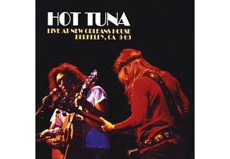 Hot Tuna - Live At New Orleans House,Berkeley 1969 - (CD)