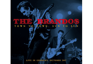 The Brandos - Live In Germany-Town To Town,Sun To Sun - (CD + DVD Video)