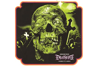 Deathrite - where evil arises (beer coloured) - (Vinyl)