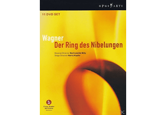 VARIOUS, De Billy/Kupfer/+ - Der Ring Des Nibelungen [DVD]