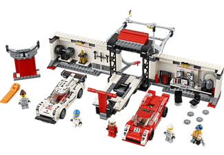 LEGO Porsche 919 Hybrid and 917K Pit Lane (75876)
