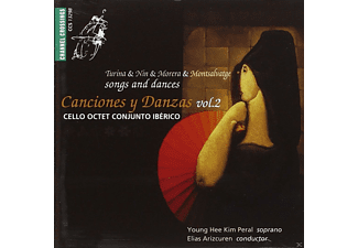 Cello Octet Conjunto Ibérico - Canciones y Danzas Vol.2 - (CD)