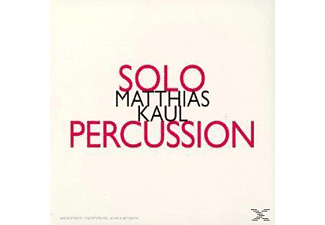 M. Kaul - Solo Percussion - (CD)