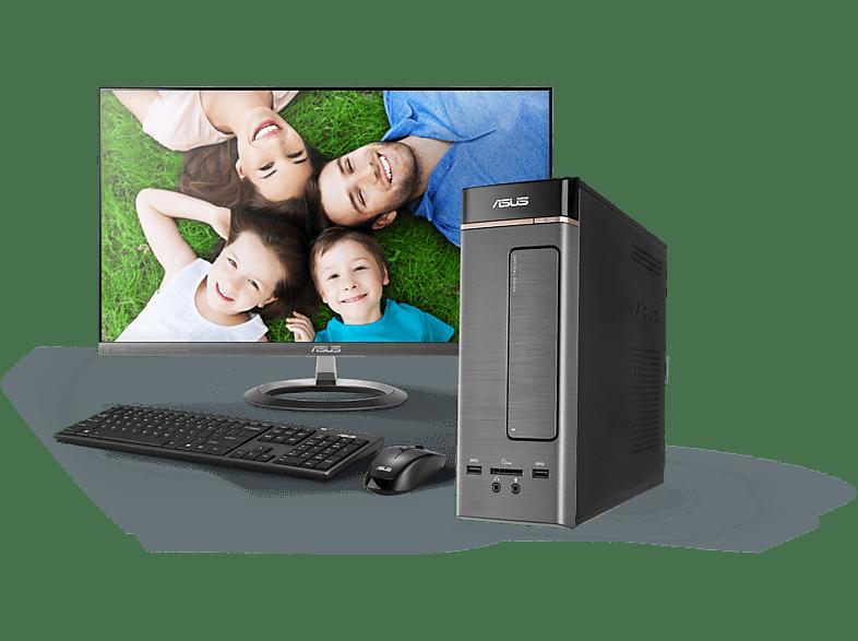 ASUS K20CD-HU054D ezüst asztali PC (Core i3/4GB/500GB HDD)