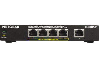 NETGEAR GS305P 5-Port, Switch