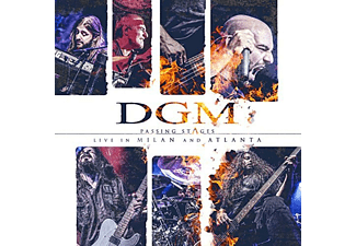 DGM - Passing Stages - Live In Milan And Atlanta (digipak) (CD + DVD)