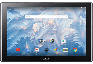 ACER Iconia One 10 (B3-A40), Tablet mit 10.1 Zoll, 32 GB Speicher, 2 GB RAM, Android™ 7.0, Schwarz