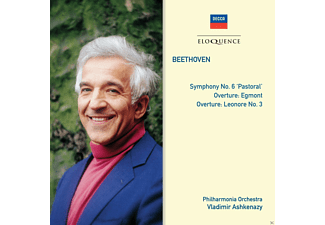 The Philharmonia Orchestra - Beethoven: Symphony No. 6 'Pastoral', Overture Egmont, Overture Leonore No. 3 - (CD)