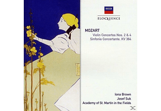 Josef Suk, Academy of St. Martin in the Fields - Violin Concertos Nos. 2& 4/ Sinfonia Concertante - (CD)