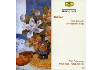 The Czech Philharmonic Orchestra, Peter Maag, Edith Peinemann, English Chamber Orchestra, Rafael Kubelik - Violin Concerto/ Serenade - (CD)