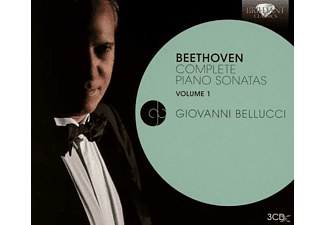 Giovanni Bellucci, VARIOUS - Piano Sonatas Vol.1 - (CD)