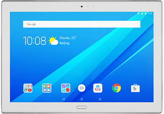 LENOVO Tab4 10 Plus 64 GB LTE  10.1 Zoll Tablet Sparkling White