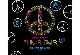VARIOUS - Love, Peace & Flower Power by Coco Beach Ibiza - (CD)