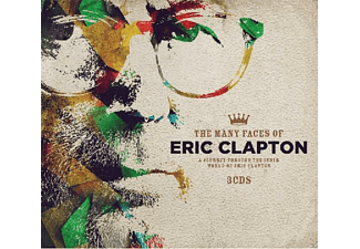 VARIOUS - Many Faces Of Eric Clapton [CD]