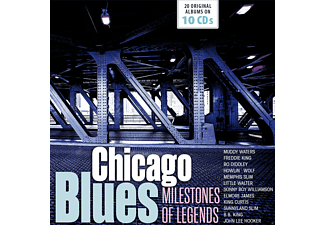 VARIOUS - tbc-Chicago Blues-Original Albums - (CD)