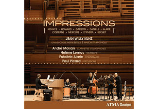Jean-willy Kunz - IMPRESSIONS - (CD)