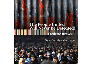 Daan Vandewalle - People United Will Never Be Defeated! - (CD)