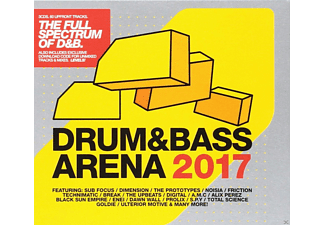 VARIOUS - DRUM & BASS ARENA 2017 (+MP3) - (CD)