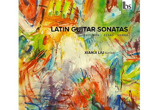 Xianji Liu - Latin Guitar Sonatas - (CD)