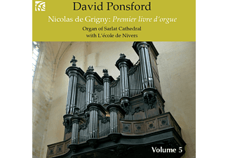 David Ponsford - Premier livre d'orgue - (CD)