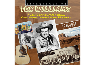 Tex Williams - I Got Texas in my Soul - (CD)