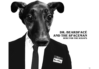Dr. Beardfacé and the Spaceman - Here For The Scraps - (CD)