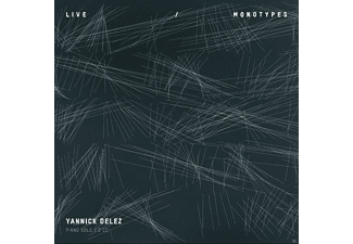 Yannick Délez - Live Monotypes-Piano Solo - (CD)