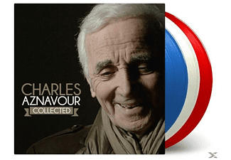 "Charles Aznavour - Collected (LTD French Flag"" Blue/White/Red Vinyl) - (LP + Download)"