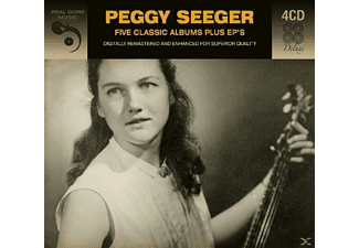 Peggy Seeger - 5 Classic Albums Plus - (CD)