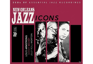 VARIOUS - New Orleans Jazz Icons - (CD)
