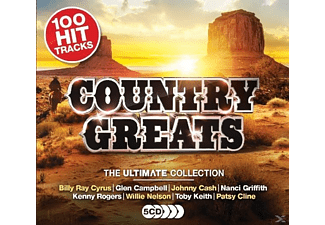VARIOUS - Country Greats - (CD)