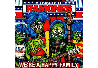 VARIOUS - A Tribute To Ramones: We're A Happy Family - (Vinyl)