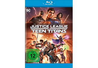DC Justice League vs Teen Titans - (Blu-ray)