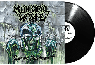 Municipal Waste - Slime And Punishment (Fekete) (Vinyl LP (nagylemez))