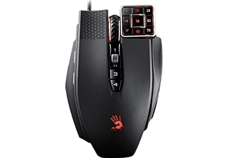 A4 TECH Bloody Ml160A Siyah C3 Aktif Lazer 8200Cpı-İsw,İsc Kablolu Gaming Mouse
