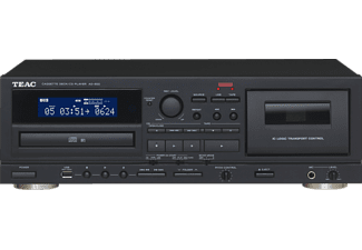 teac enregistreur lecteur cd cassette ad 850 b. Black Bedroom Furniture Sets. Home Design Ideas