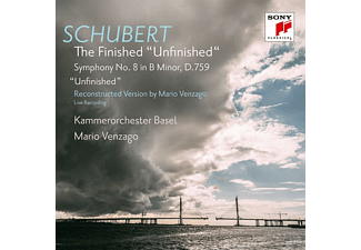 "Kammerorchester Basel - Sinfonie 8 in b minor,D.759,""Unfinished"" - (CD)"