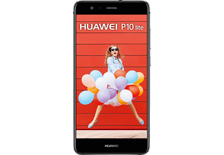 HUAWEI P10 lite, Smartphone, 32 GB, 5.2 Zoll, Schwarz, LTE