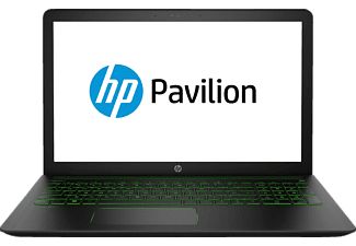 HP Pavilion Power 15-CB032NG, Gaming Notebook mit 15.6 Zoll Display, Core™ i5 Prozessor, 8 GB RAM, 1 TB HDD, 128 GB SSD, GeForce GTX 1050, Schwarz