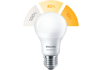 PHILIPS LED sceneswitch körte 60 e27 matt 806lm 8w meleg