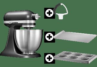 kitchenaid k chenmaschine 5ksm3311xebm inkl backblech mini kuchenbackblech und felxir hrer. Black Bedroom Furniture Sets. Home Design Ideas