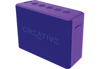 CREATIVE MUVO 2C Purple, Bluetooth Speaker, Wasserfest, Lila