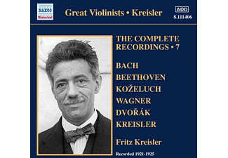 Fritz Kreisler - Complete Recordings 7 - (CD)