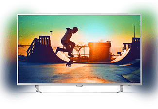 PHILIPS 43PUS6412/12, 108 cm (43 Zoll), UHD 4K, SMART TV, LED TV, 900 PPI, Ambilight 2-seitig, DVB-T2 HD, DVB-C, DVB-S, DVB-S2