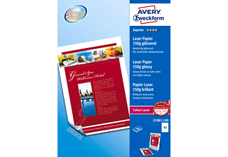 AVERY ZWECKFORM 25983-100, ColourLaser Papier